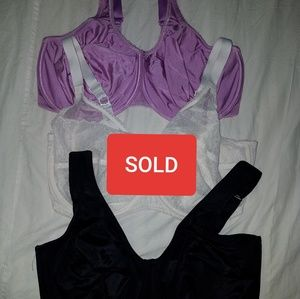 2 Bras All 36H Wacoal Anita